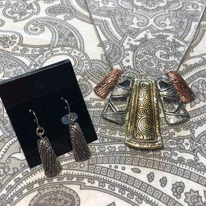 Jewelry - ⬇️ 5 tier pendent set - multi tone